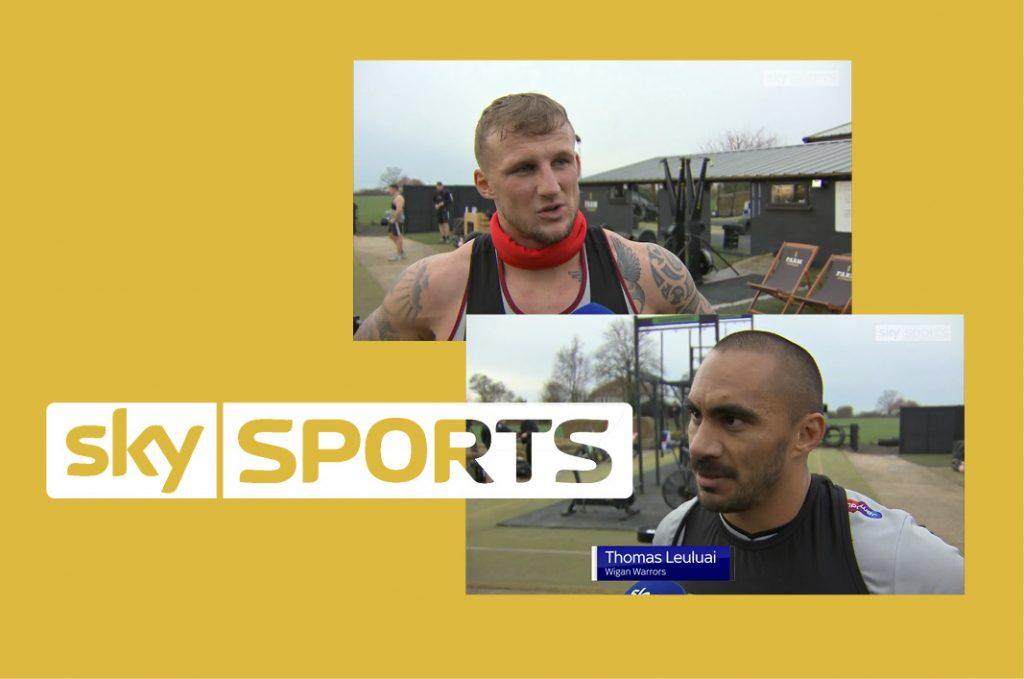 Farm Fitness Sky Sports Press Story
