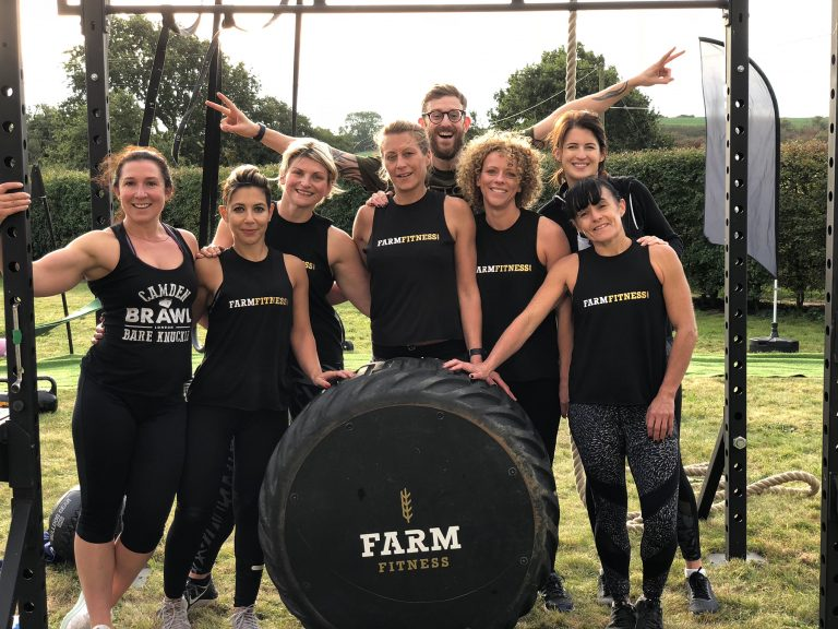 Mobile Pop-ups from Farm Fitness